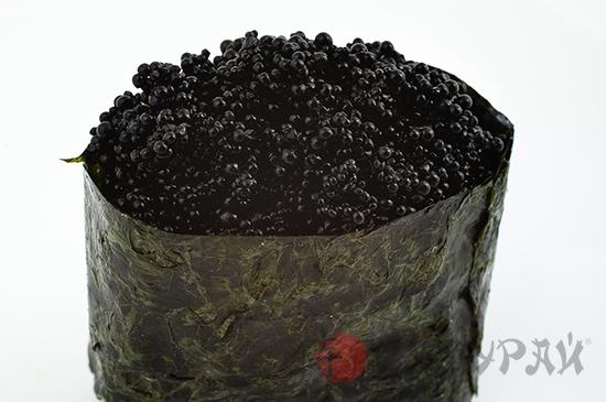 Тобико черная