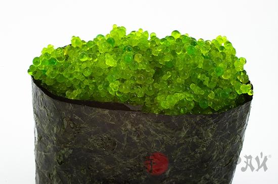 Тобико зеленая